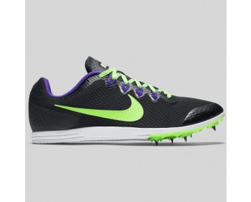 Damen & Herren - Nike Zoom Rival D 9 Schwarz Grün Strike Force lila