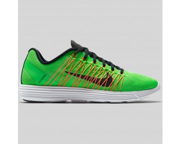 Damen & Herren - Nike Lunaracer+ 3 Grün Strike Schwarz Hyper Orange