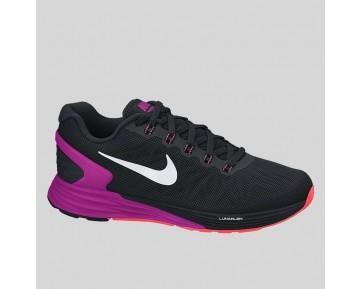 Damen & Herren - Nike Wmns Lunarglide 6 Schwarz Fuchsia Flash