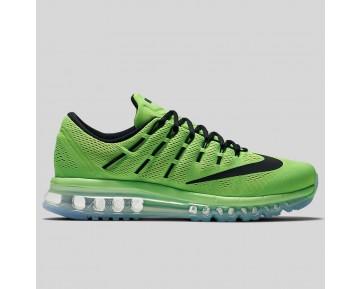 Damen & Herren - Nike Air Max 2016 Elektrisch Grün Schwarz Pink Blast