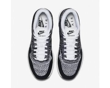 Nike Air Max 1 Ultra Flyknit Schuhe - Weiß/Schwarz