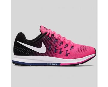 Damen & Herren - Nike Wmns Air Zoom Pegasus 33 Pink Blast Schwarz Dunkel lila Staub