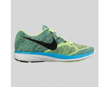 Damen & Herren - Nike Flyknit Lunar3 Blau Lagune Blavk Volt
