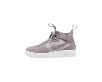Nike Air Force 1 Ultraforce Mid Prm Schuhe High NIKq879-Grau