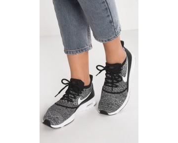 Nike Air Max Thea Ultra Flyknit Schuhe Low NIKnmzg-Schwarz