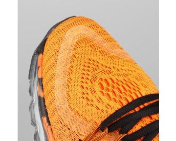 Damen & Herren - Nike Air Max 2015 Premium Total Orange Schwarz