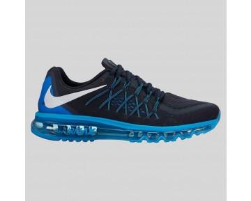 Damen & Herren - Nike Air Max 2015 Dunkel Obsidian Weiß Blau Lagune