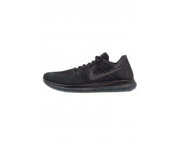 Nike Performance Free Run Flyknit 2 Schuhe NIKbc7s-Schwarz