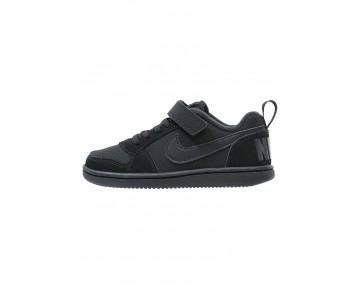 Nike Court Borough Schuhe Low NIK2hrq-Schwarz