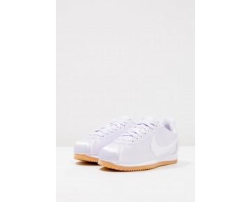 Nike Classic Cortez Satin Qs Schuhe Low NIKqifv-Weiß
