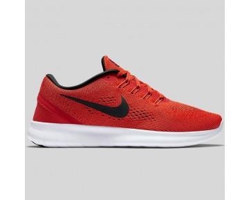 Damen & Herren - Nike Free RN Universität Rote Schwarz Weiß