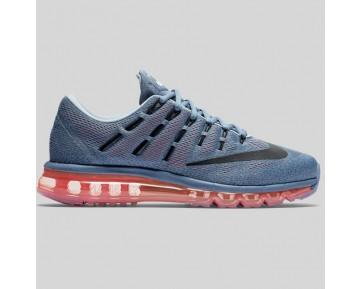 Damen & Herren - Nike Air Max 2016 Ozean Fog Hell Karmesinrot