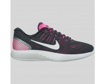 Damen & Herren - Nike Wmns Lunarglide 8 Pink Blast Summit Weiß Anthracite