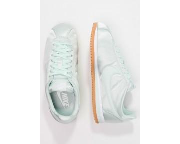 Nike Classic Cortez Satin Qs Schuhe Low NIKn6ih-Grün