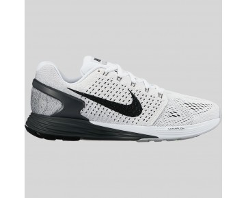 Damen & Herren - Nike Wmns Lunarglide 7 Weiß Anthracite Cool Grau