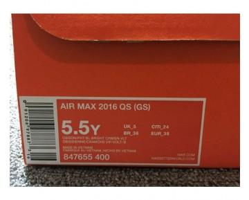 Nike Air Max 2016 QS GS Heat Map Pack Fitnessschuhe-Damen
