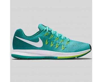 Damen & Herren - Nike Wmns Air Zoom Pegasus 33 Hyper Turquoise Weiß Clear Jade