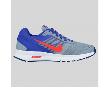 Damen & Herren - Nike Air Relentless 5 MSL Blau Grau Total Karmesinrot