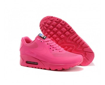 Nike Air Max 90 Hyperfuse QS Independence Day Fitnessschuhe-Damen