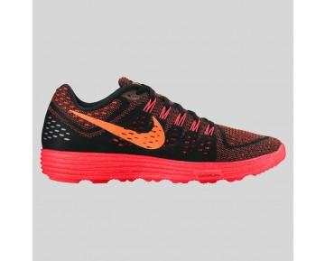 Damen & Herren - Nike Lunartempo Schwarz Total Orange Hell Karmesinrot