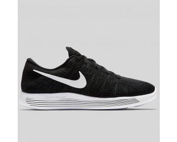 Damen & Herren - Nike Lunarepic Low Flyknit Schwarz Weiß Anthracite