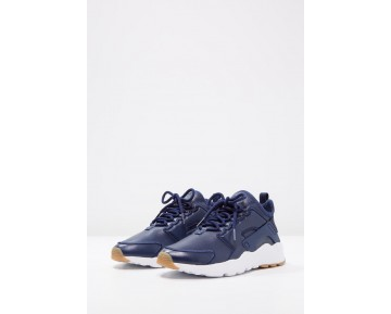 Nike Air Huarache Run Ultra Si Schuhe Low NIK28ux-Blau
