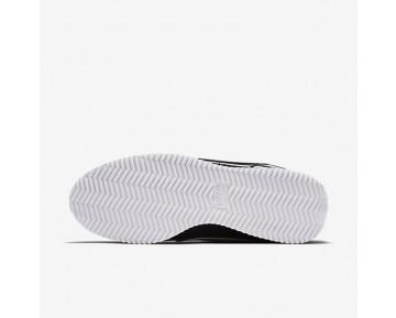 Nike Cortez Basic Premium QS Schuhe - Schwarz/Weiß/Metallisches Silber
