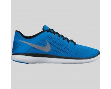Damen & Herren - Nike Flex 2016 RN Foto Blau Schwarz Weiß