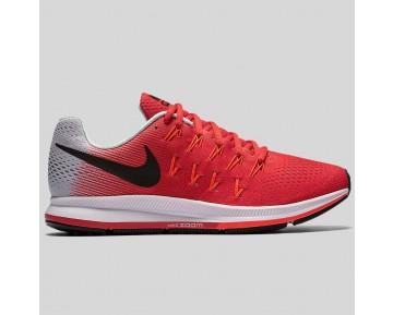 Damen & Herren - Nike Air Zoom Pegasus 33 Action Rote Schwarz Rein Platinum