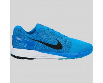 Damen & Herren - Nike Lunarglide 7 Foto Blau Schwarz Gamma Blau