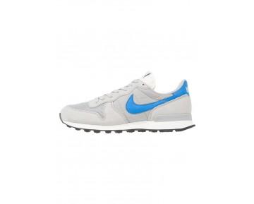 Nike Internationalist Schuhe Low NIK3xo8-Silver