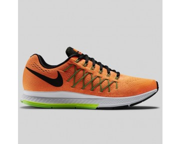 Damen & Herren - Nike Air Zoom Pegasus 32 Total Orange Schwarz Geist Grün