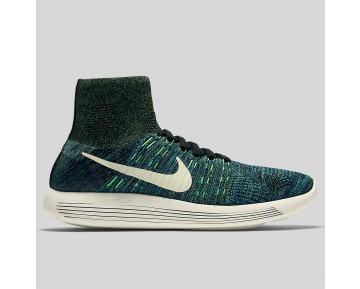Damen & Herren - Nike Lunarepic Flyknit Multicolor Foto Blau Poison Grün