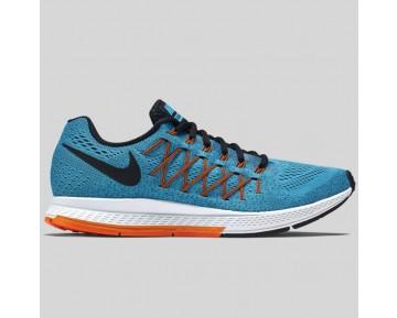 Damen & Herren - Nike Air Zoom Pegasus 32 Blau Logan Schwarz Hell Citrus