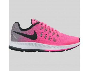 Damen & Herren - Nike Zoom Pegasus 33 (GS) Pink Blast Schwarz Cool Grau