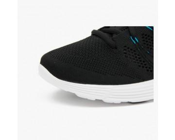 Damen & Herren - Nike Lunar Flyknit Chukka Schwarz Neo Turquoise