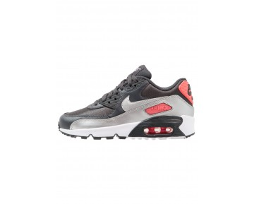 Nike Air Max 90 Schuhe Low NIK2s09-Schwarz