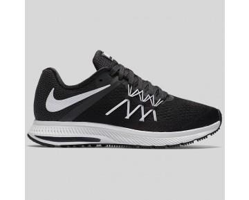 Damen & Herren - Nike Wmns Zoom Winflo 3 Schwarz Weiß Anthracite