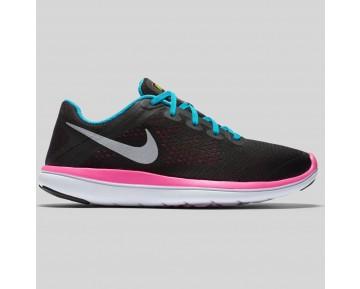 Damen & Herren - Nike Flex 2016 RN (GS) Schwarz Gamma Blau Pink Blast