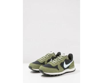 Nike Internationalist Schuhe Low NIKeswl-Schwarz