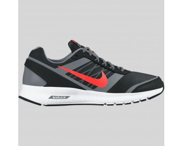 Damen & Herren - Nike Air Relentless 5 MSL Schwarz Total Karmesinrot Metallisch Cool Grau