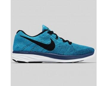 Damen & Herren - Nike Flyknit Lunar3 Brave Blau Schwarz