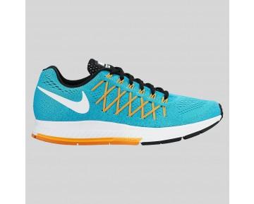 Damen & Herren - Nike Wmns Air Zoom Pegasus 32 Gamma Blau Weiß Laser Orange