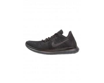 Nike Performance Free Run Flyknit 2 Schuhe NIK20x6-Schwarz