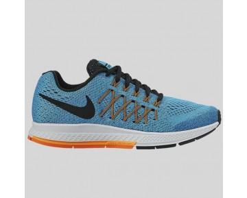 Damen & Herren - Nike Zoom Pegasus 32 (GS) Blau Logan Weiß Total Orange