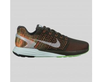 Damen & Herren - Nike Wmns Lunarglide 7 Flash Sequoia Spiegeln Silber