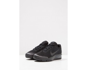 Nike Performance Air Max Sequent 2 Schuhe Low NIKpd2h-Schwarz