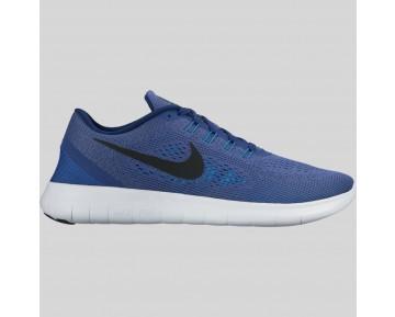 Damen & Herren - Nike Free RN Dunkel lila Staub Schwarz Königlich Blau