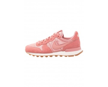 Nike Internationalist Schuhe Low NIK46k7-Rot