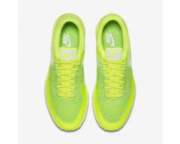 Nike Air Max 1 Ultra Flyknit Schuhe - Volt/Elektrisches Grün/Weiß